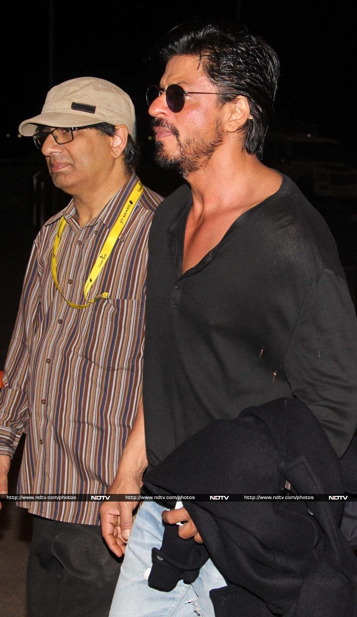 Shah Rukh Flies to London for a Koffee With Karan