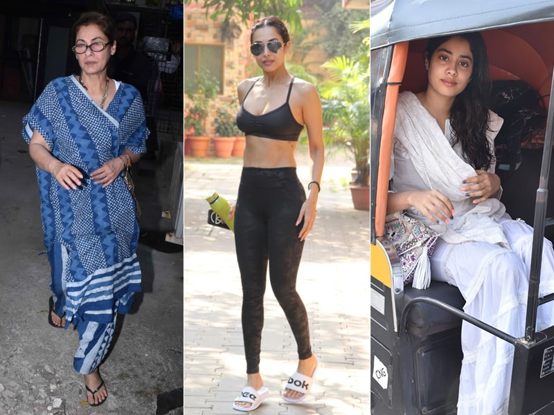 Keeping Up With Dimple Kapadia, Malaika Arora And Janhvi Kapoor