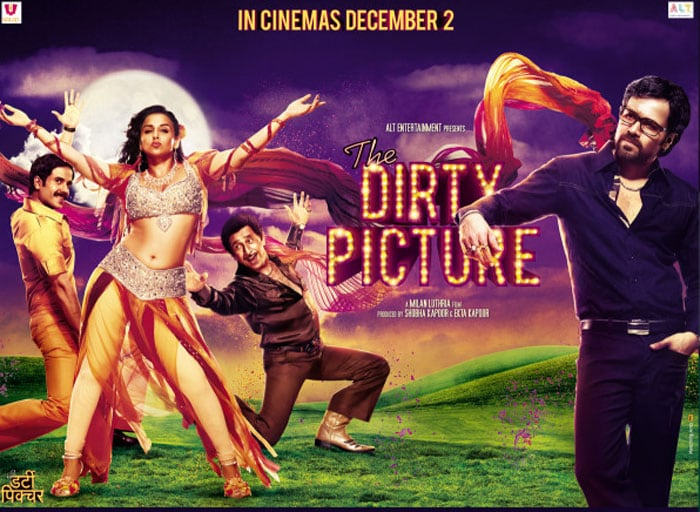 New Poster: The Dirty Picture