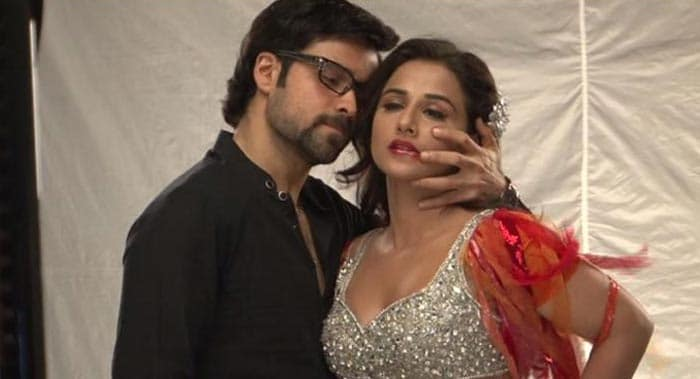 Vidya in her The Dirty Picture avatar