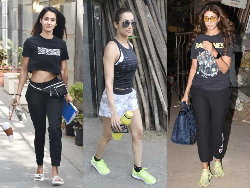 Disha, Malaika And Shweta Out And About In Mumbai