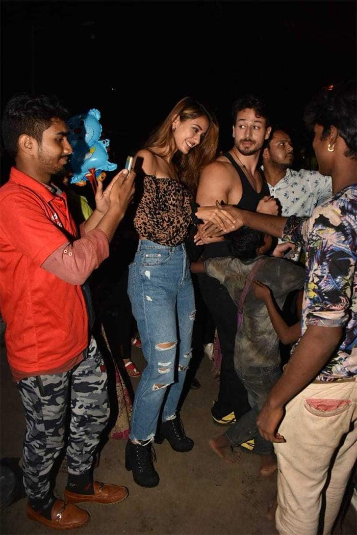 Catching Up With Disha Patani And Tiger Shroff