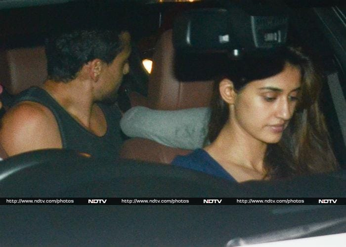Disha Patani And Tiger Shroff\'s Weekend Rendezvous