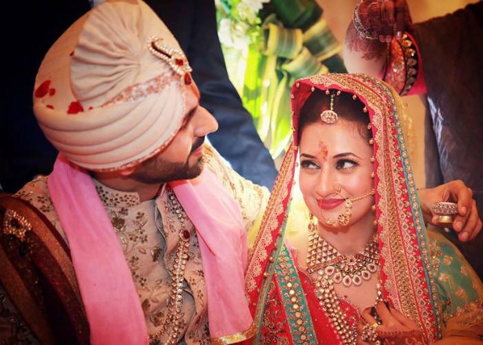 तस्वीरों में देखें 'ये हैं मोहब्बतें' की एक्ट्रेस दिव्यंका की शादी