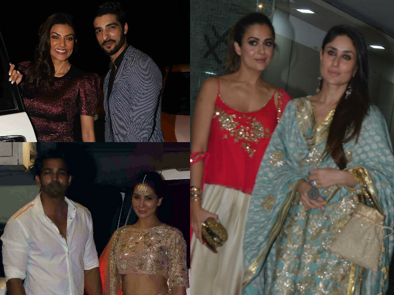 Diwali 2018: Sushmita-Rohman, Kim-Harshvadhan, Kareena, Manisha Step Out In Festive Best
