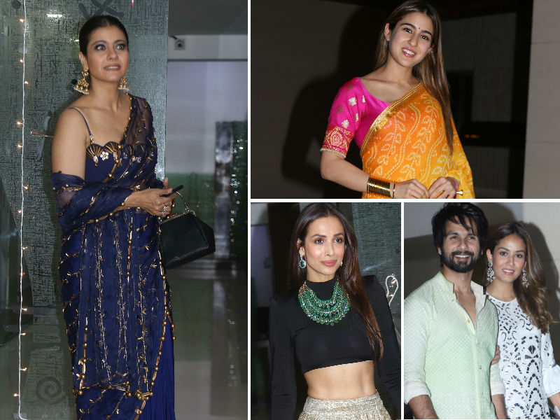 Diwali 2019: Kajol, Sara, Malaika, Shahid-Mira Are Festive Season Ready. Are You?