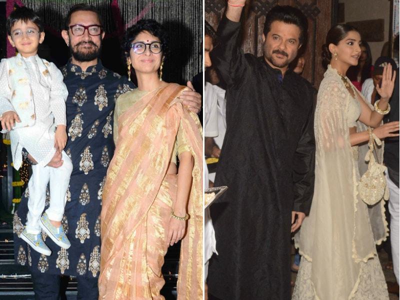 Inside Aamir Khan, Anil Kapoor's Dhamakedar Diwali