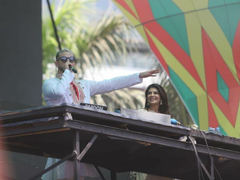 Photo : Jacqueline Fernandez Attends DJ Snake's Concert On Holi