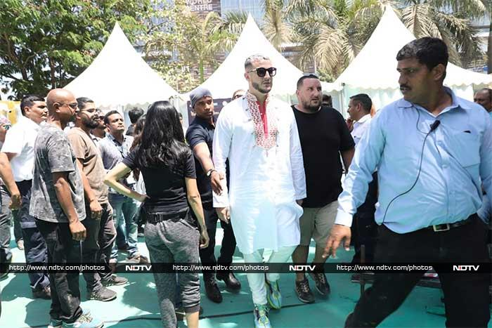 Jacqueline Fernandez Attends DJ Snake\'s Concert On Holi