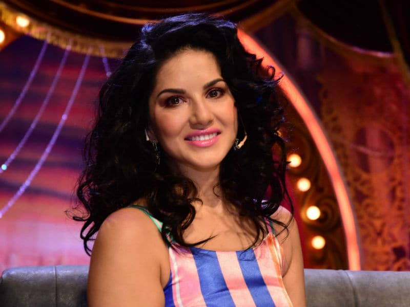Behind-The-Scenes With Sunny Leone