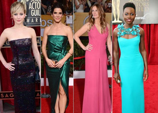 A-list red carpet at SAG awards