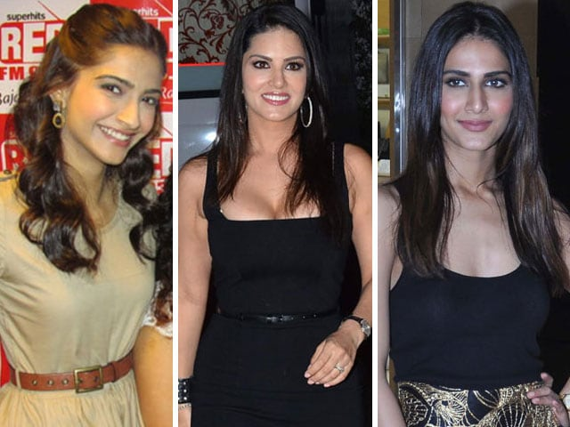 Just another day at work for Sonam, Sunny, Vaani