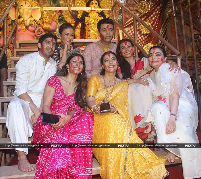 Durga Puja 2019: Pics From Rani Mukerji And Kajol\'s Celebrations Are Giving Us Kuch Kuch Hota Hai Vibes