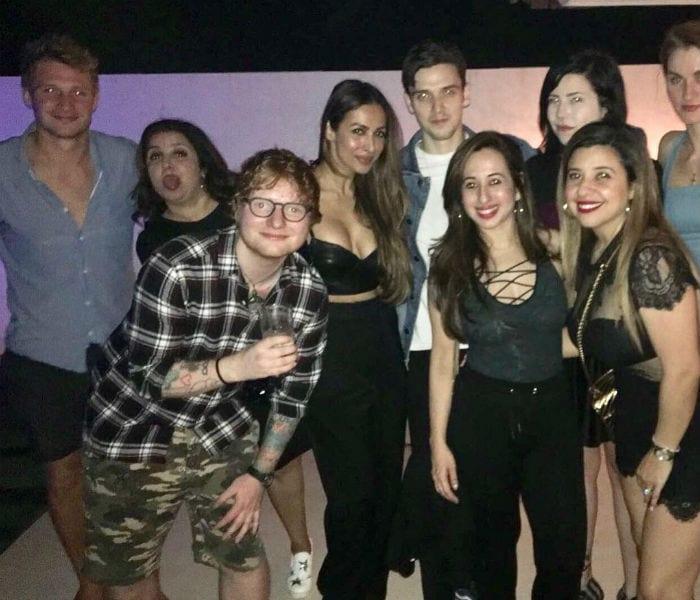 24 Rocking Pics From Farah Khan\'s Party Ed Sheeran