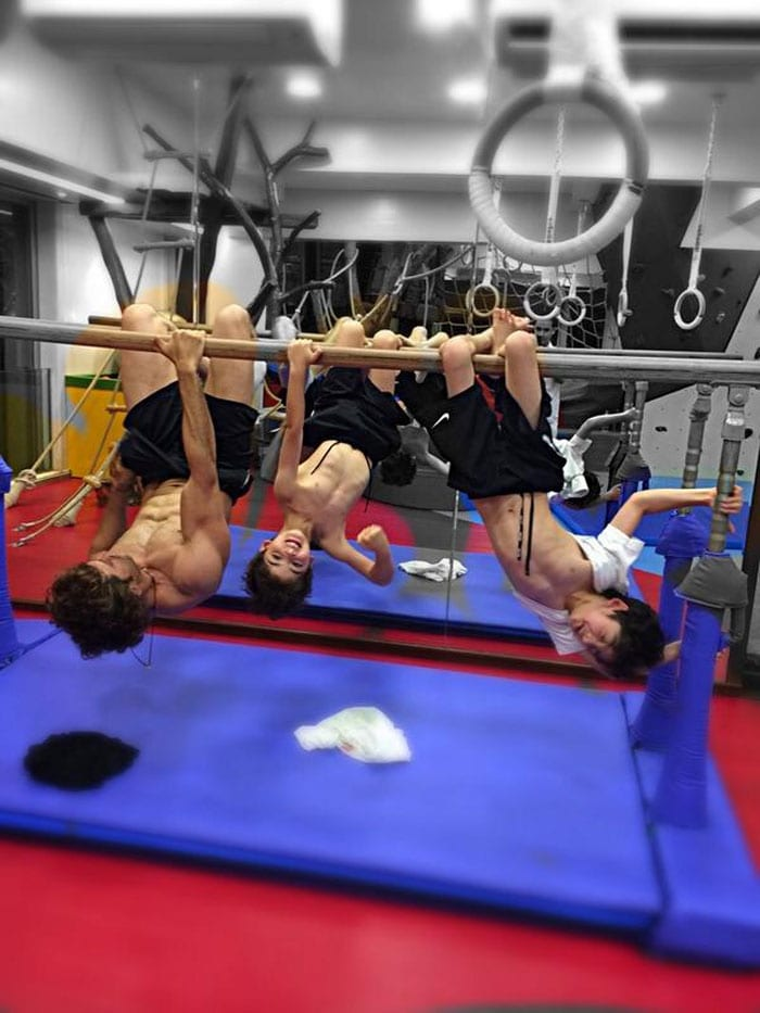 Hrithik Roshan\'s Sons Are His New Gym Buddies