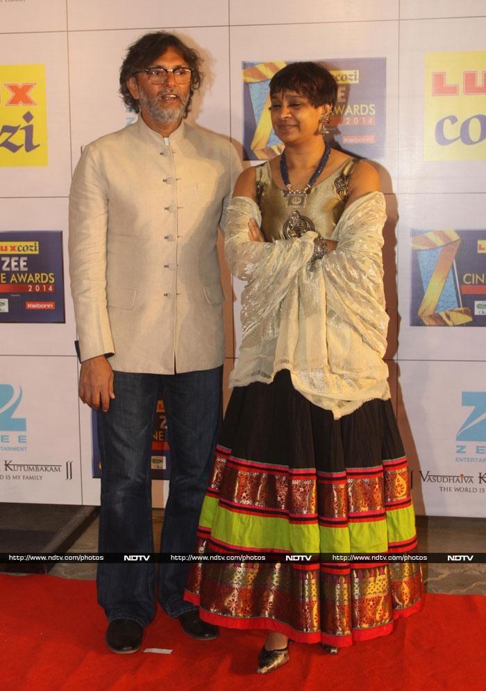 Bollywood stars glitter at Zee Cine Awards