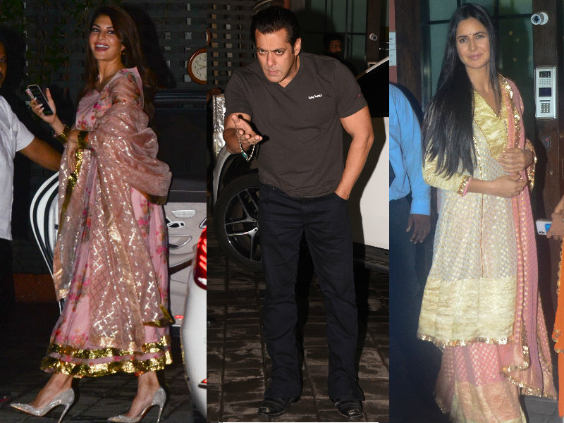 Salman Khan, Katrina, Jacqueline, Iulia At Arpita And Aayush Sharma's Eid Party