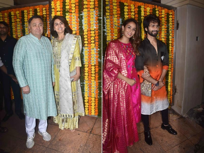 Diwali 2019: Rishi, Neetu, Shahid, Mira And Others Light Up Ekta Kapoor's Party