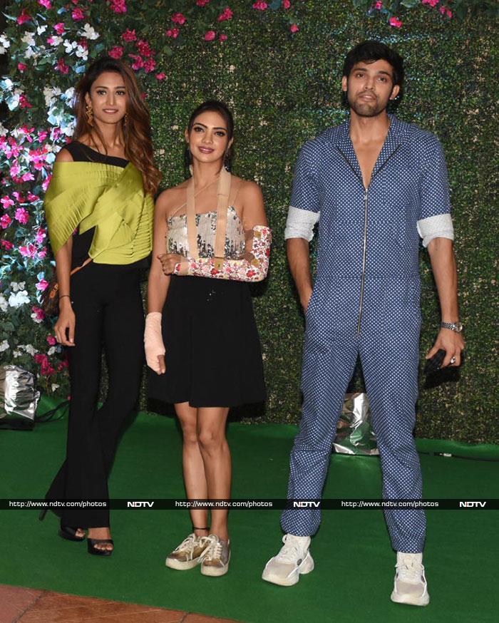 Sunny Leone, Hina Khan, Karishma Tanna And Others Set The Party Mood With Ekta Kapoor