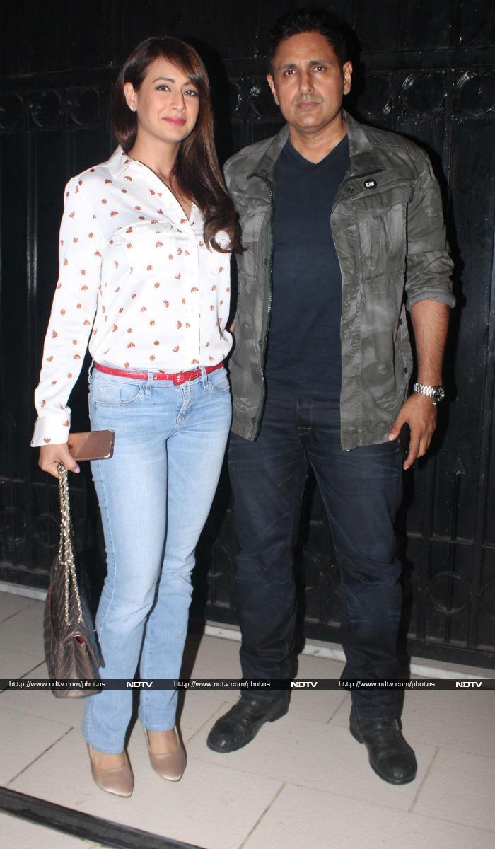 Bipasha Basu, Mouni Roy, Surveen Chawla Party With Ekta Kapoor