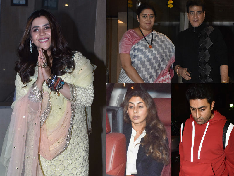 Ekta Kapoor Hosts The Bachchans, Smriti Irani And TV Celebs For Son Ravie