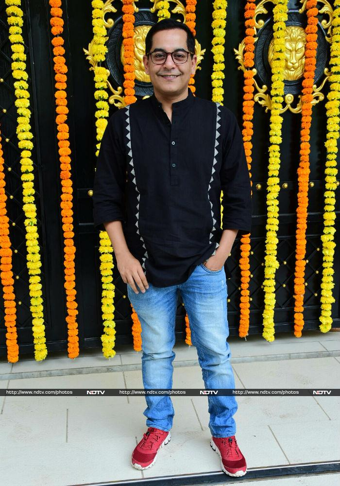 Ganesh Utsav At Ekta Kapoor's Home With Sakshi Tanwar, Mona Singh
