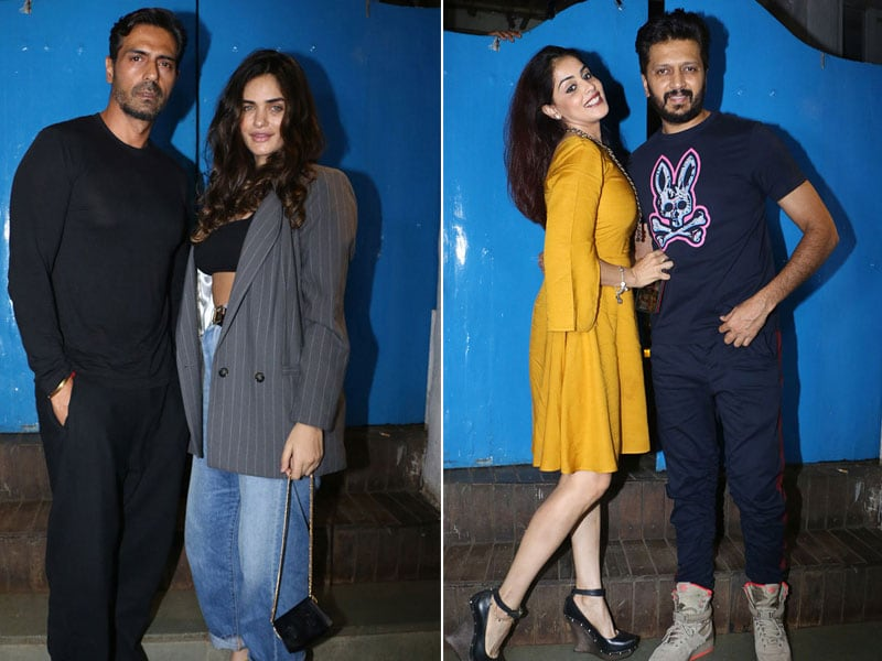 Arjun-Gabriella To Riteish-Genelia, This Bollywood Party Was Exploding With Stars