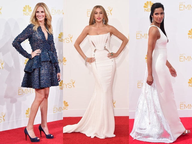Emmys Red Carpet: Julia, Sofia, Padma Put Best Face Forward