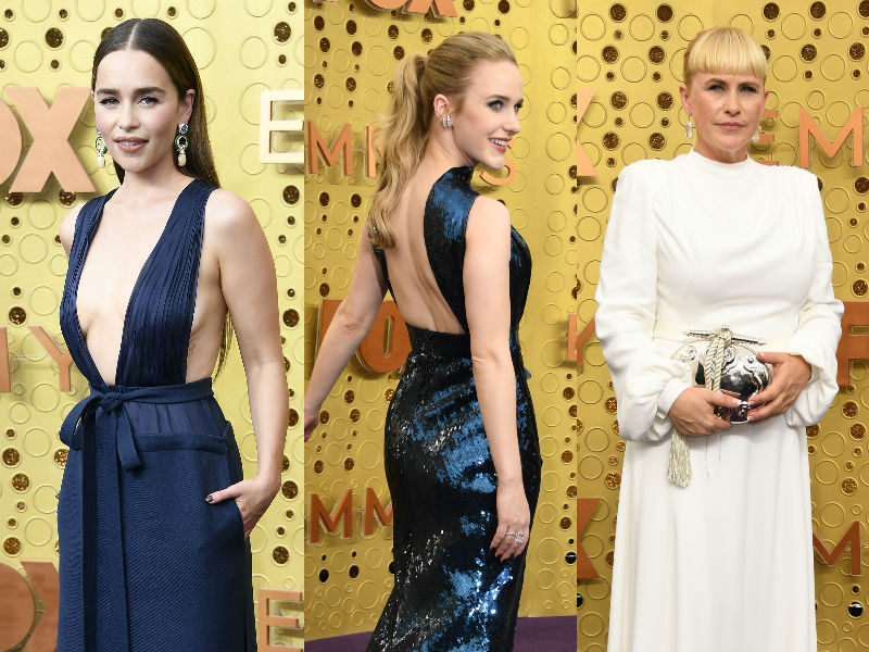 Photo : Emmys 2019: Emilia Clarke, Sophie Turner Glam Up The Red Carpet