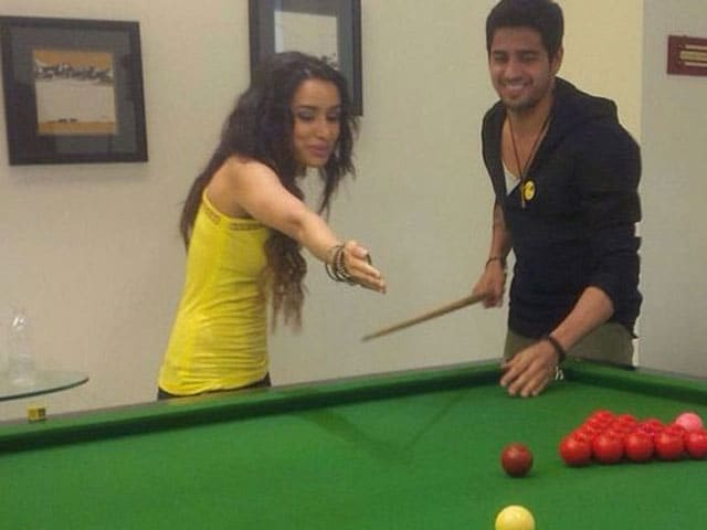 Shraddha, Sidharth's Snooker Party