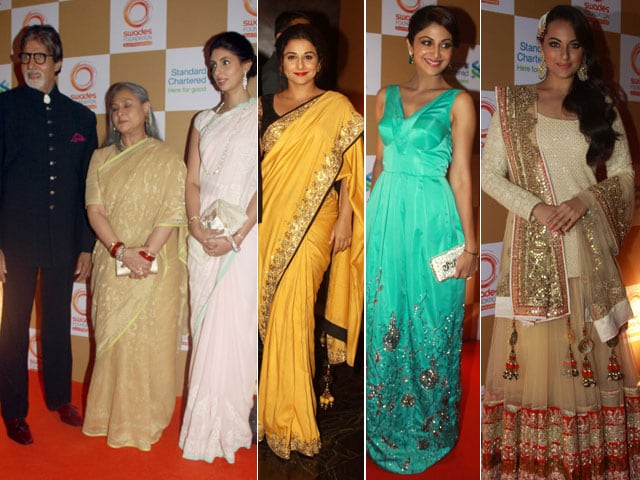 Bachchans lead a glamorous line-up at Swades party