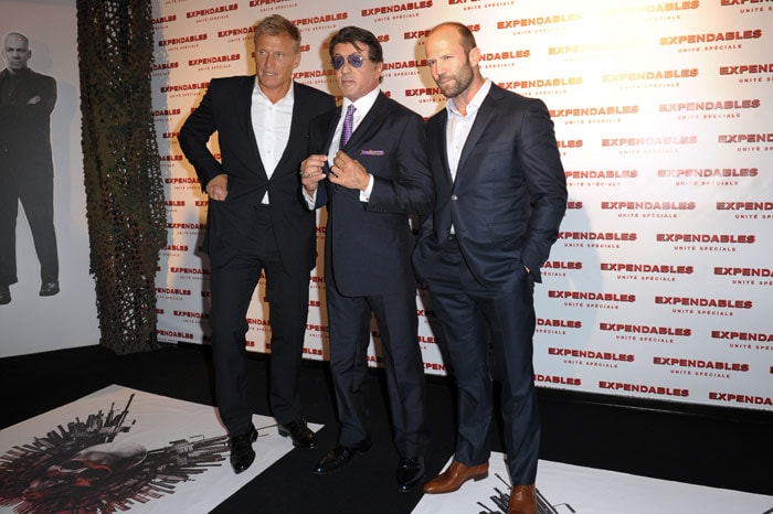 The Expendables premiere