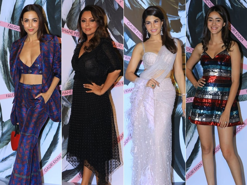 Inside Falguni And Shane Peacock's Store Launch With Malaika Arora, Gauri Khan, Jacqueline Fernandez, Ananya Panday And Others