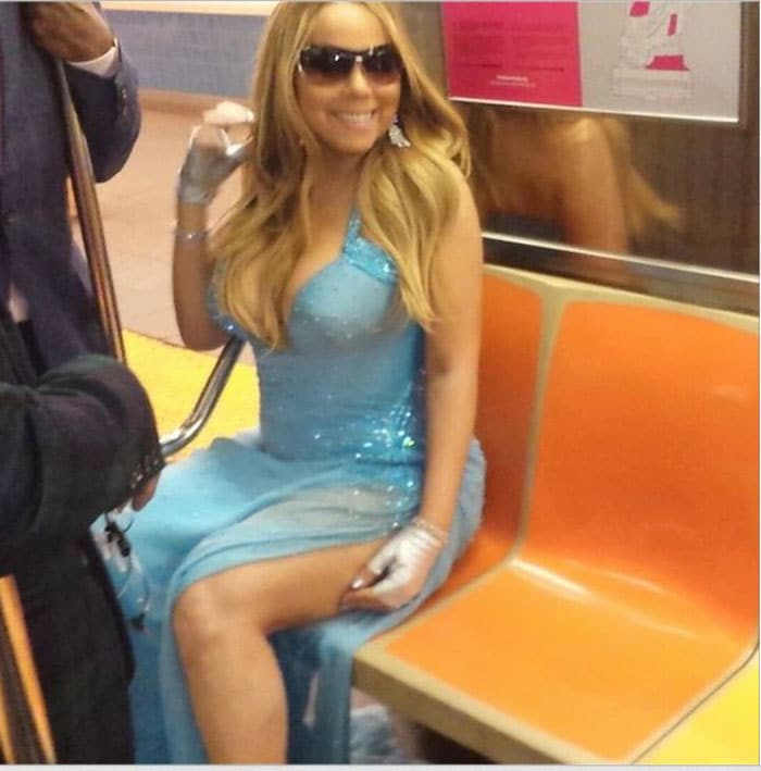 Aren\'t You a Little Over-Dressed for the Subway, Mariah?