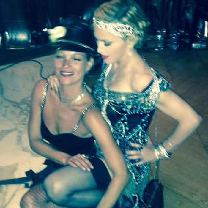 Dress You Up: Birthday Girl Madonna Parties With Kate Moss