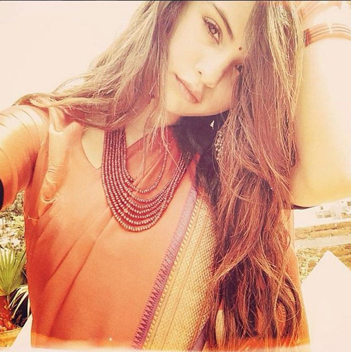 Wow, Look at Selena Gomez in a Sari! Is Justin Bieber Looking?