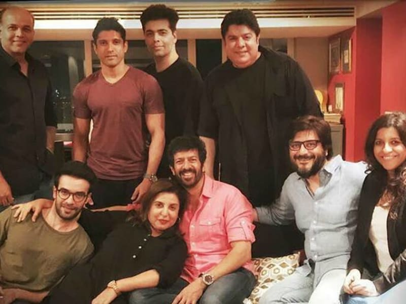 Nine Directors Party Together At Farah Khan's Residence