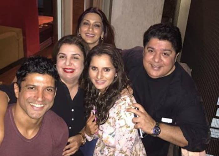 Nine Directors Party Together At Farah Khan\'s Residence