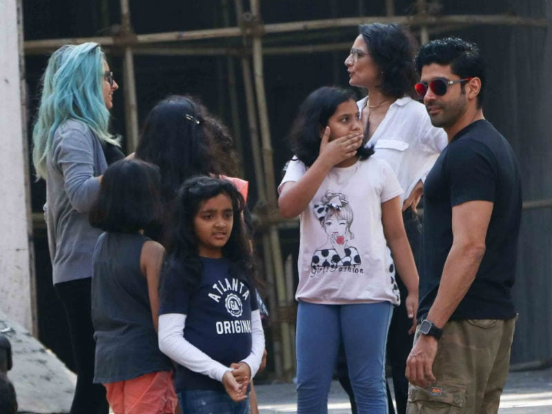 Farhan And Adhuna Celebrate Daughter's Birthday