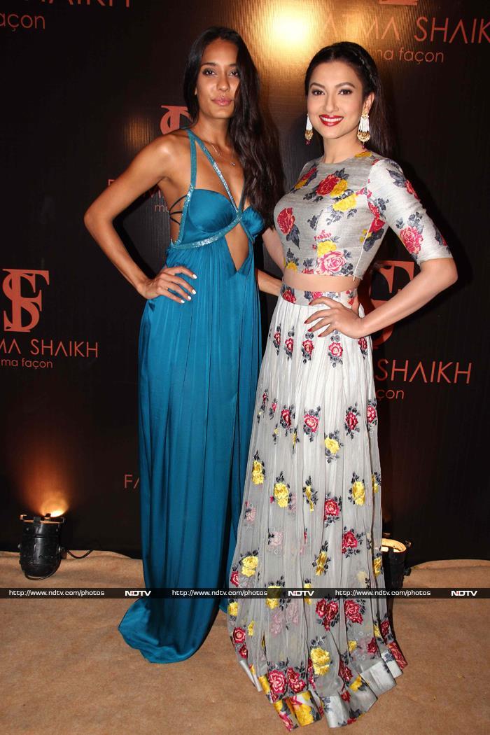 A Date With Fashionistas Lisa Haydon, Gauahar Khan, Divya Khosla