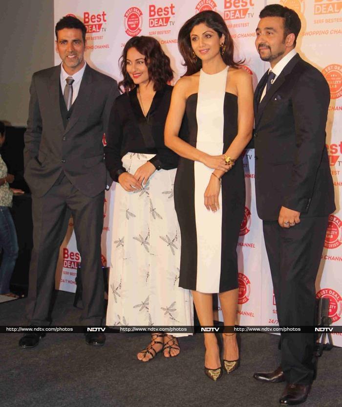 Amiable Exs Akshay Kumar, Shilpa Shetty\'s New Venture
