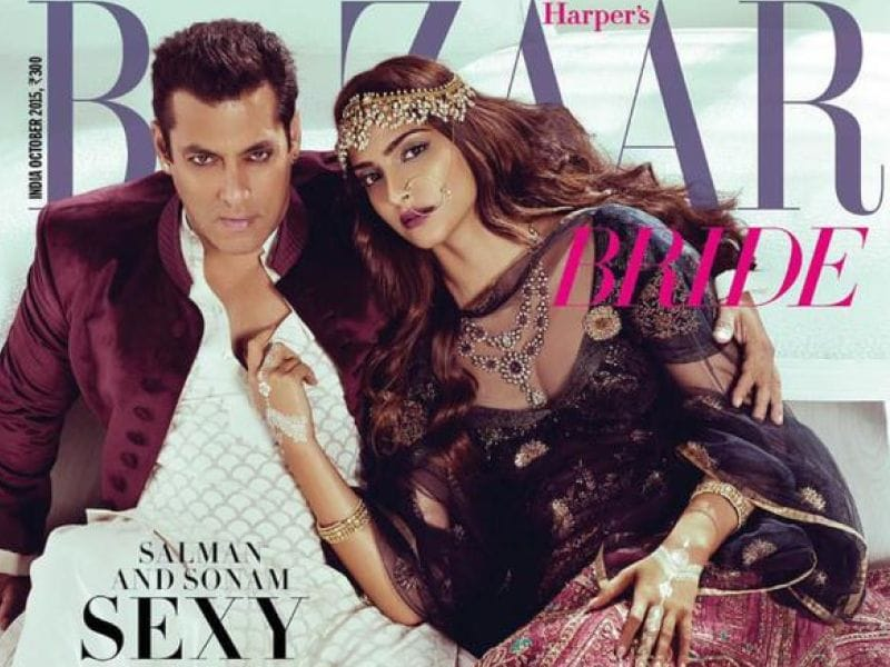 Salman and Sonam Look Like Royalty in Latest Photoshoot