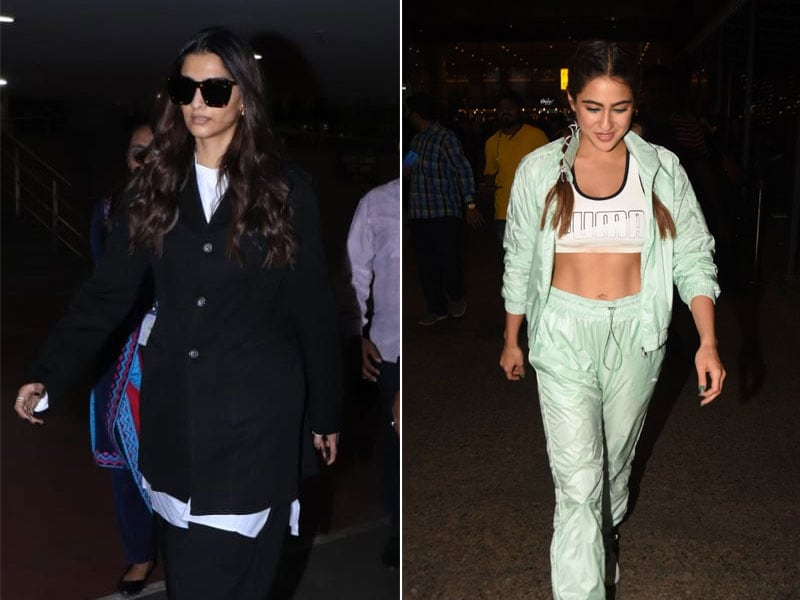 Sonam Kapoor And Sara Ali Khan Are Busy Bees