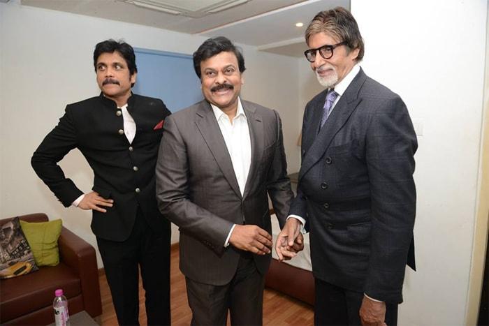 A Starry Night With Amitabh Bachchan, Nagarjuna, Chiranjeevi