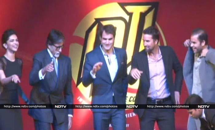 This Dance-a-Thon Stars Federer, Sampras, Deepika and Big B