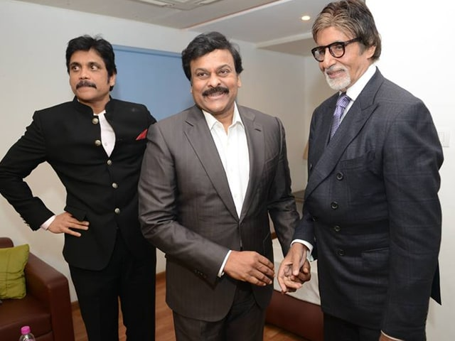 A Starry Night With Amitabh Bachchan, Nagarjuna, Chiranjeevi