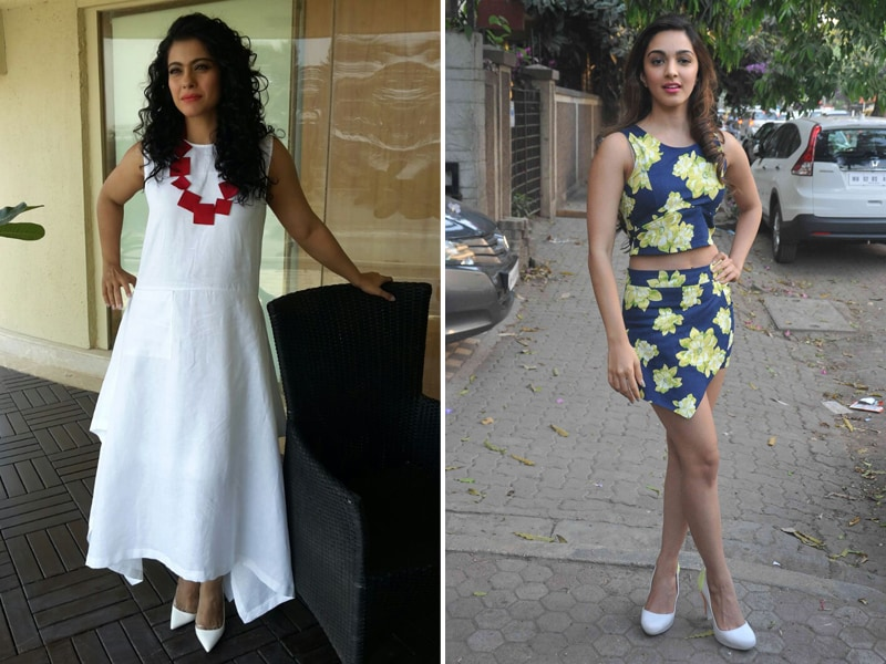 Kajol, Kiara Are Ready For Summer