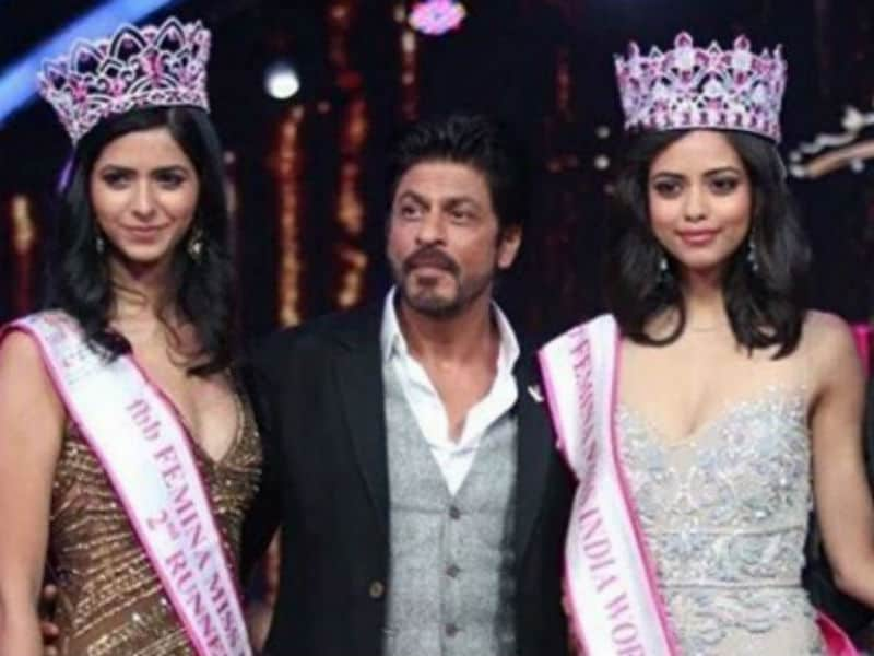 Miss India 2016: Shah Rukh Celebrates With the Winners