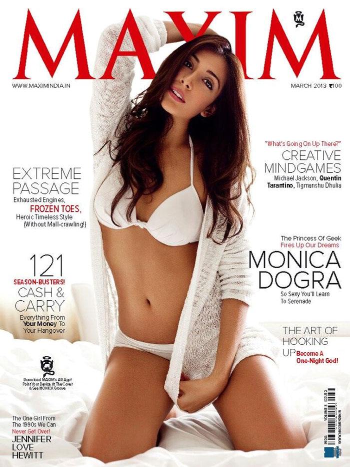 Maxim-um girl Monica Dogra