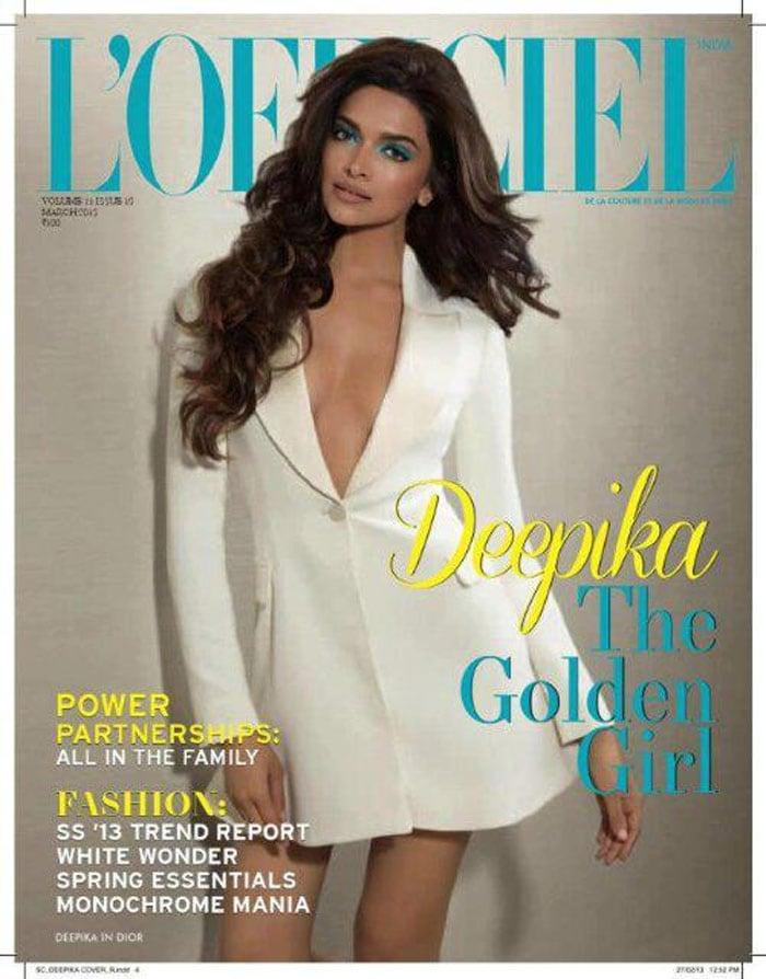 Deepika covers up for L\'Officiel